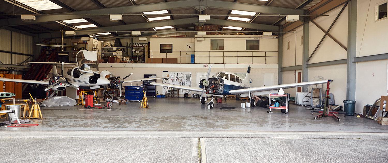 apollo aircraft hangarage at brighton city airport